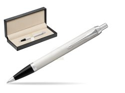Parker IM White CT Ballpoint Pen  in classic box  pure black