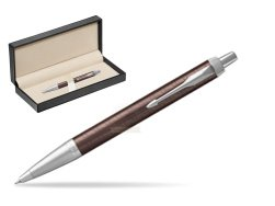 Parker IM Premium Brown CT Ballpoint Pen  in classic box  pure black