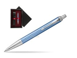 Parker IM Premium Blue CT Ballpoint Pen  single wooden box  Black Single Maroon