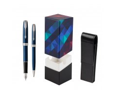Parker Sonnet Blue CT Fountain Pen + Ballpoint Pen in a Gift Box  StandUP Kaleidoscope