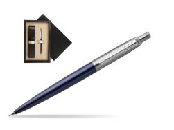 Jotter Royal Blue CT T2016 Mechanical Pencil  single wooden box  Wenge Single Ecru
