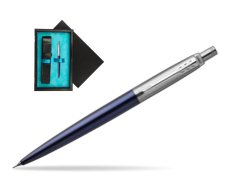 Jotter Royal Blue CT T2016 Mechanical Pencil  single wooden box  Black Single Turquoise