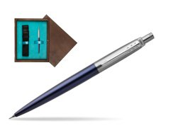 Jotter Royal Blue CT T2016 Mechanical Pencil  single wooden box  Wenge Single Turquoise