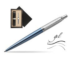 Jotter gel blue Waterloo CT T2016 Ballpoint pen  single wooden box  Wenge Single Ecru
