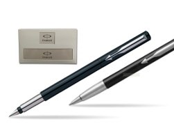 Parker Vector Standard Black Fountain Pen + Parker Vector Standard Black Ballpoint Pen in a Gift Box
