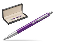 Parker Vector Purple Ballpoint Pen  in classic box  black
