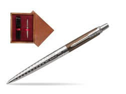 Parker Jotter London Architecture Bronze Gothic CT Ballpoint Pen  single wooden box Mahogany Single Maroon