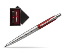Parker Jotter London Architecture Classical Red CT Ballpoint Pen  single wooden box  Black Single Maroon