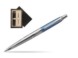 Parker Jotter London Architecture Skyblue Modern CT Ballpoint Pen  single wooden box  Wenge Single Ecru