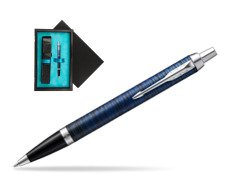 Parker IM Blue Origin Special Edition Ballpoint Pen  single wooden box  Black Single Turquoise