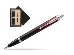 Parker IM Red Ignite Special Edition Ballpoint Pen  single wooden box  Wenge Single Ecru