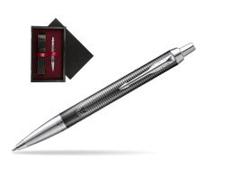 Parker IM Metallic Pursuit Special Edition Ballpoint Pen  single wooden box  Black Single Maroon