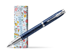 Parker Im Midnight Astral Special Edition Fountain Pen in cover Good luck
