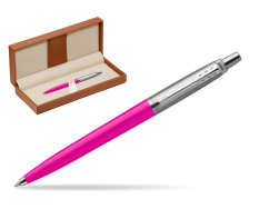 Parker Jotter Originals Magenta Ballpoint Pen  in classic box brown