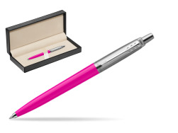 Parker Jotter Originals Magenta Ballpoint Pen  in classic box  pure black