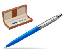 Parker Jotter Originals Blue Ballpoint Pen  in classic box brown