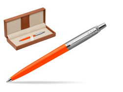 Parker Jotter Originals Orange Ballpoint Pen  in classic box brown