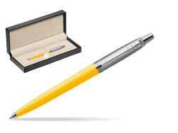 Parker Jotter Originals Yellow Ballpoint Pen  in classic box  pure black