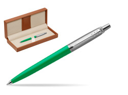 Parker Jotter Originals Green  Ballpoint Pen  in classic box brown