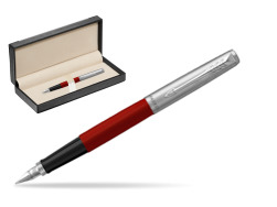 Parker Jotter Originals Red Fountain Pen  in classic box  black