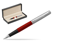 Parker Jotter Originals Red Fountain Pen  in classic box  pure black