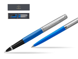 Parker Jotter Originals Blue CT T2016 Rollerball Pen + Ballpoint Pen in a Gift Box