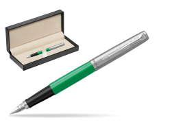 Parker Jotter Originals Green Fountain Pen  in classic box  pure black