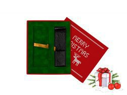 Christmas gift box red