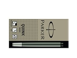 Parker Standard Black Ink Cartridges (5 pcs)