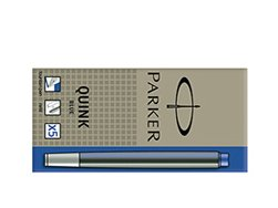 Parker Standard Blue Ink Cartridges (5 pcs)