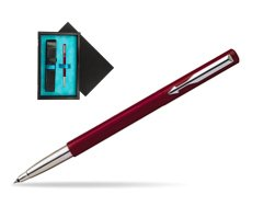 Parker Vector Standard Red Rollerball Pen  single wooden box  Black Single Turquoise