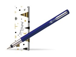 Parker Vector Standard Blue Fountain Pen in cover Snow Gift