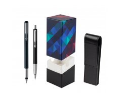 Parker Vector Standard Black Fountain Pen + Parker Vector Standard Black Ballpoint Pen in a Gift Box  StandUP Kaleidoscope