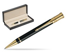 Parker Duofold Black Resin GT Ballpoint Pen  in classic box  pure black