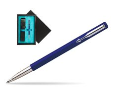 Parker Vector Standard Blue Rollerball Pen  single wooden box  Black Single Turquoise