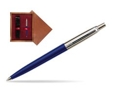 Parker Jotter Special Blue Ballpoint Pen  single wooden box Mahogany Single Maroon