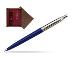 Parker Jotter Special Blue Ballpoint Pen  single wooden box  Wenge Single Maroon