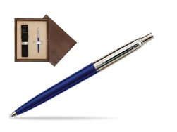 Parker Jotter Special Blue Ballpoint Pen  single wooden box  Wenge Single Ecru