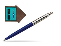 Parker Jotter Special Blue Ballpoint Pen  single wooden box  Wenge Single Turquoise