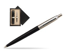 Parker Jotter Special Black Ballpoint Pen  single wooden box  Wenge Single Ecru