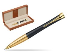 Parker Urban Classic Muted Black Lacquer GT Ballpoint Pen  in classic box brown