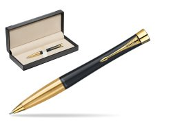 Parker Urban Classic Muted Black Lacquer GT Ballpoint Pen  in classic box  black