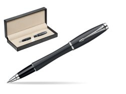 Parker Urban Classic Muted Black Lacquer CT Rollerball Pen  in classic box  pure black