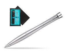 Parker Urban Classic Metro Metallic CT Mechanical Pencil  single wooden box  Black Single Turquoise