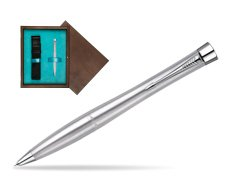 Parker Urban Classic Metro Metallic CT Mechanical Pencil  single wooden box  Wenge Single Turquoise