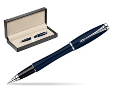 Parker Urban Classic Nightsky Blue Lacquer CT Fountain Pen  in classic box  black