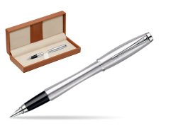 Parker Urban Classic Metro Metallic CT Fountain Pen  in classic box brown