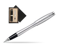 Parker Urban Classic Metro Metallic CT Fountain Pen  single wooden box  Wenge Single Ecru