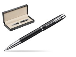 Parker IM Black Lacquer CT Rollerball Pen  in classic box  black