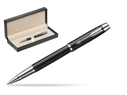 Parker IM Black Lacquer CT Rollerball Pen  in classic box  pure black